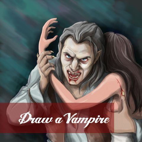 vampire drawing contest