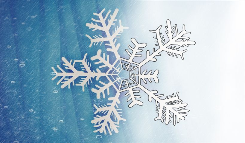 snowflake drawing steps
