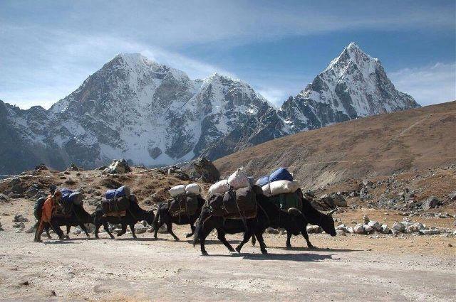 hilly region in Nepal
