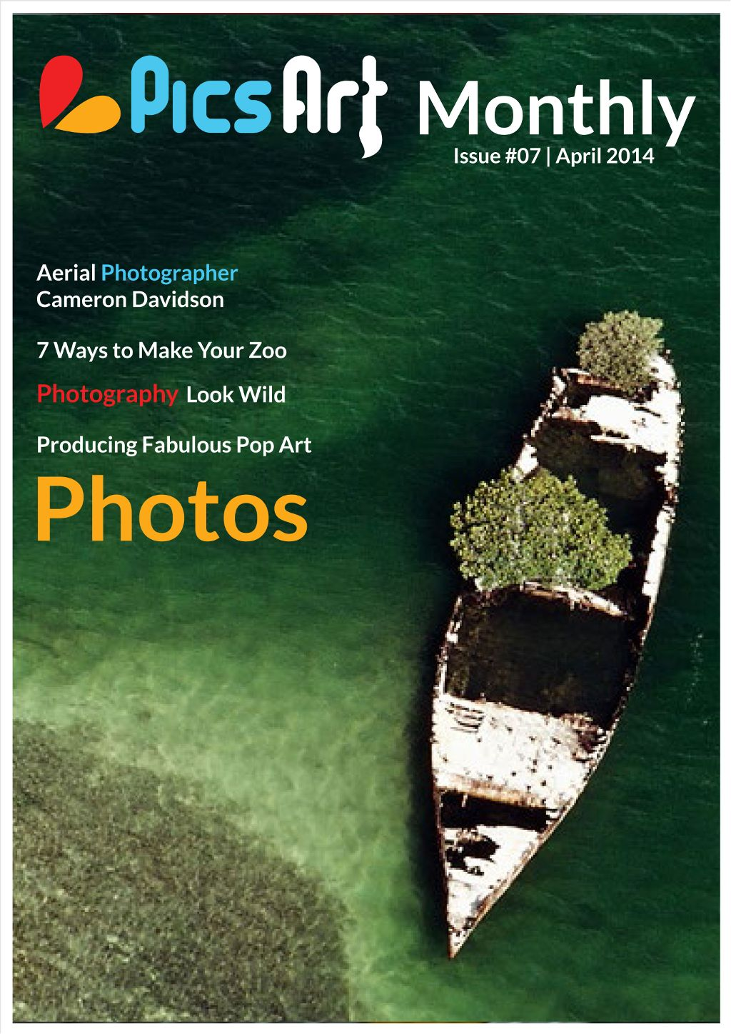 PicsArt monthly magazine april issue