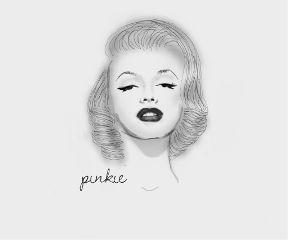 art beautiful black & white drawing vintage