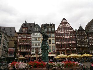 germany frankfurt summer travel photography