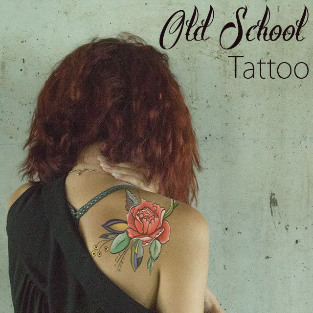 old school tattoo package