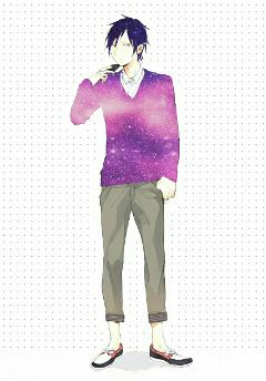 anime izaya galaxy edit cute