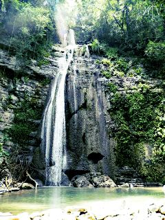 mexico nature travel waterfall peaceful