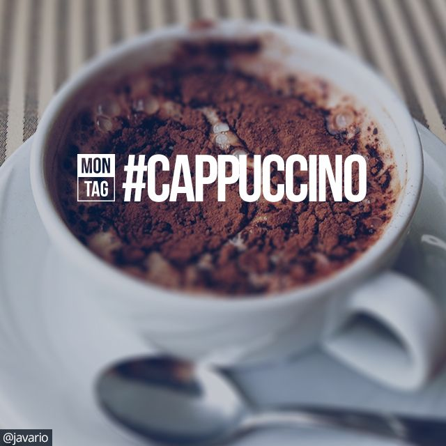 daily hash tag cappuccino