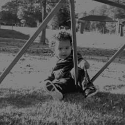 wapfilmeffect park baby blackandwhite winteroutfit