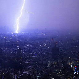 lightning photography nature