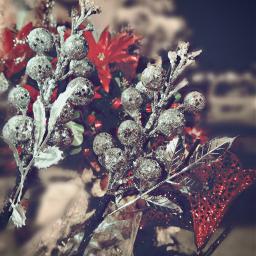decorating christmas winter festival glitter