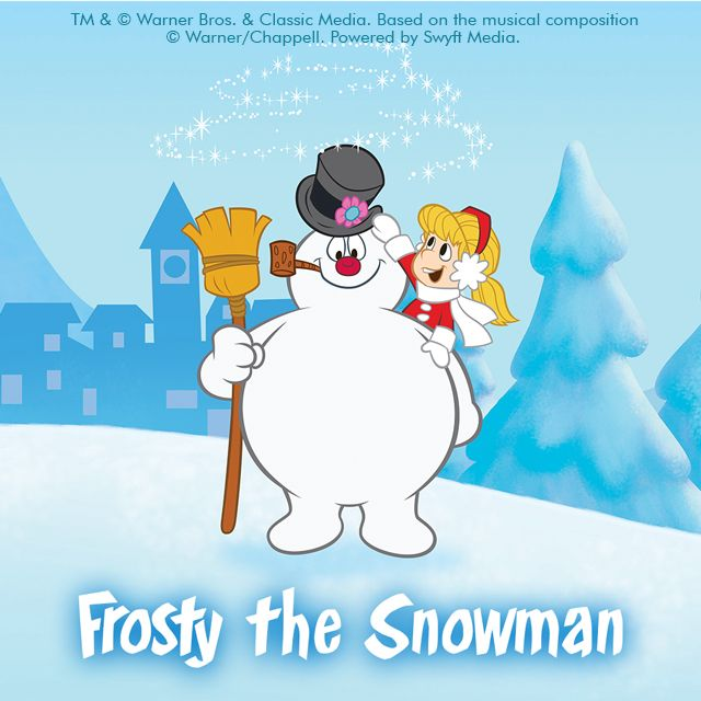 frosty the snowman clipart and backgrounds