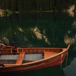 boat lake mountain