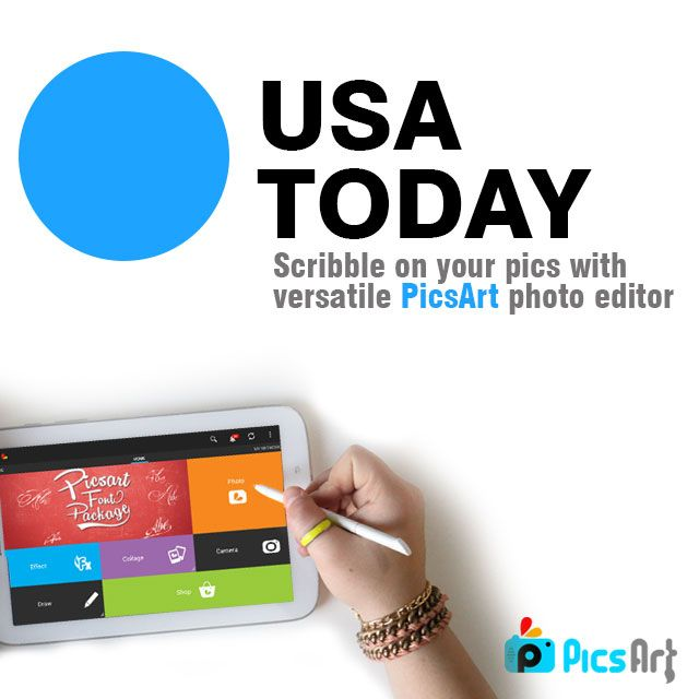 PicsArt and USA Today