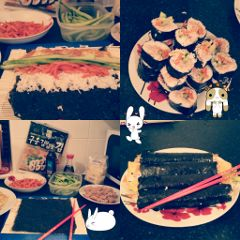 kimbap friend loved korea traditional