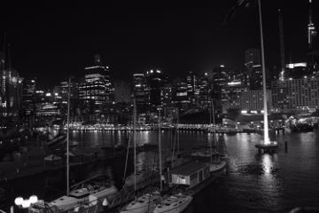 australia sydney nightscape