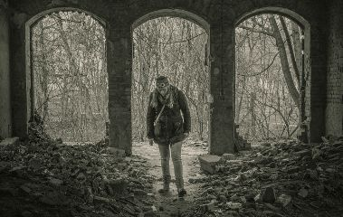 photography blackandwhite urban architecture abandoned